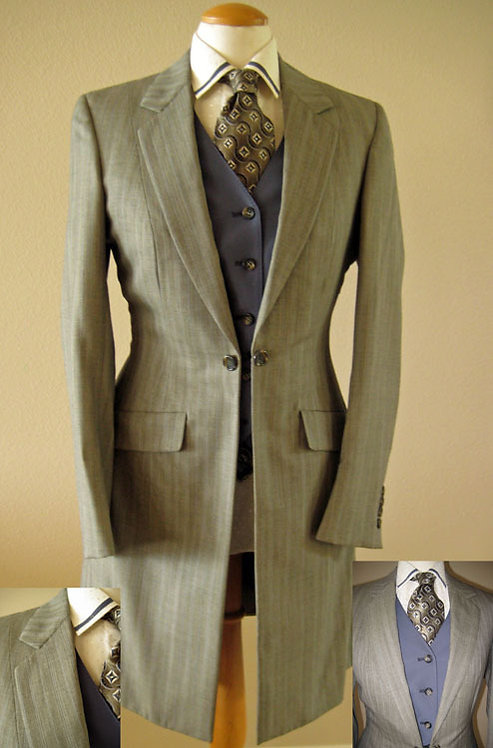 Frierson Green/Grey Complete Outfit - Ladies 6