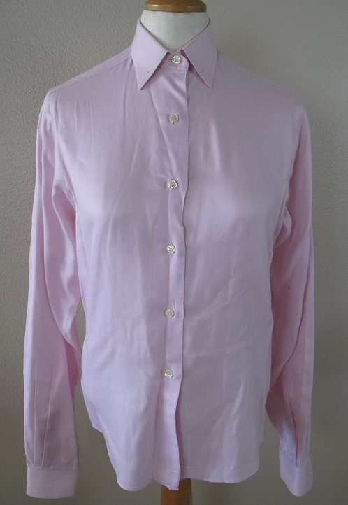 Show Season Light Pink Herringbone Shirt - L6/8