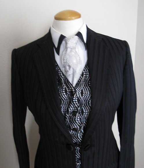 Show Season Black Pinstripe Outfit - Ladies 4