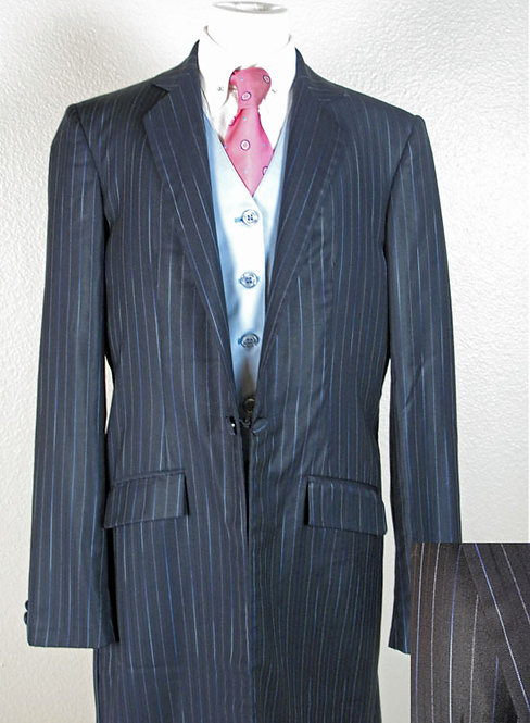 Show Season Blue/Black Suit, Size 14-16