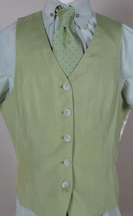 Deregnaucourt Light Green Vest - Ladies 2/4