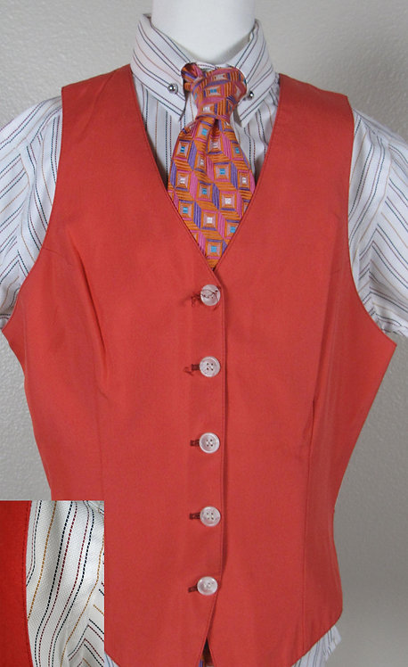 Deregnaucourt Med Orange Vest - Ladies 2/4