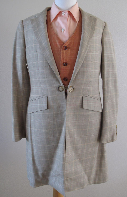 Deregnaucourt Tan Suit - Size 10