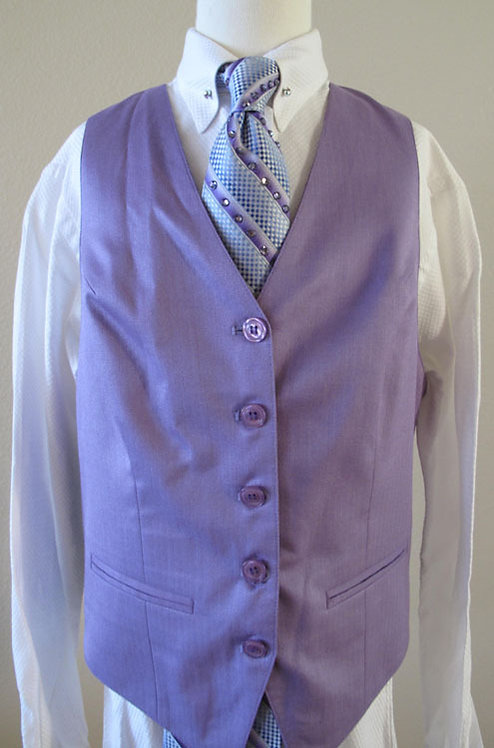 Becker Brothers Lavender Vest, Size 12/14
