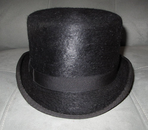 No Brand Black Top Hat - Size 7