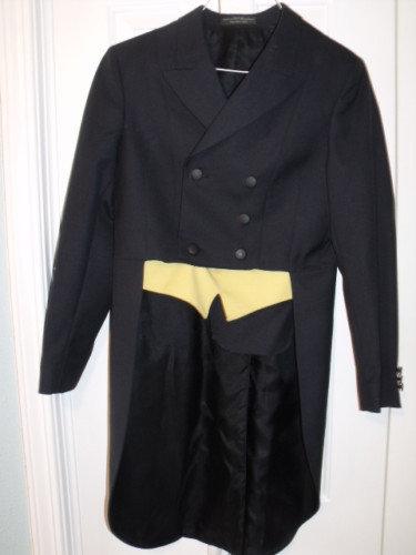 RJ Classics Black Shadbelly - Size 4R