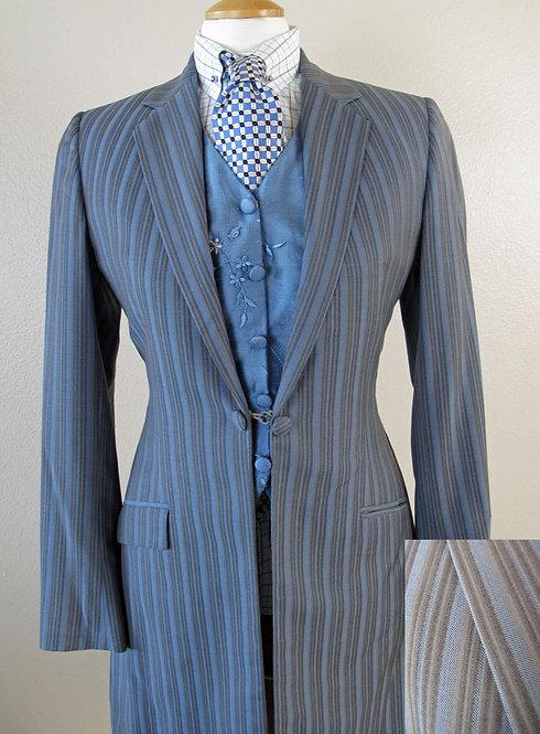 Show Season Steel Blue/Grey Stripe Ladies 6/8