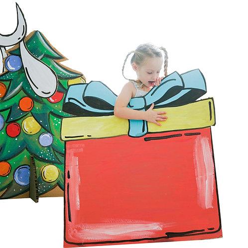 אביזר קופסת מתנה גדולה