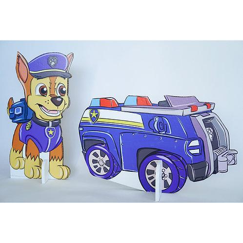 צ'ייס והמכונית שלו