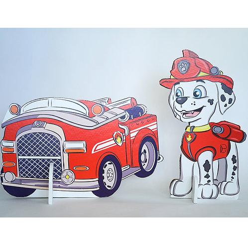 מרשל והמכונית שלו