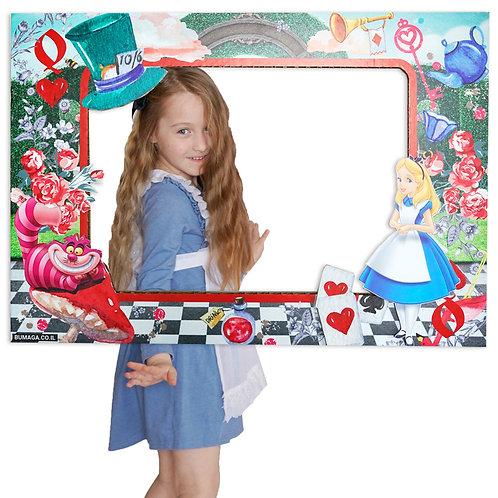 מסגרת צילום אליס בארץ הפלאות
