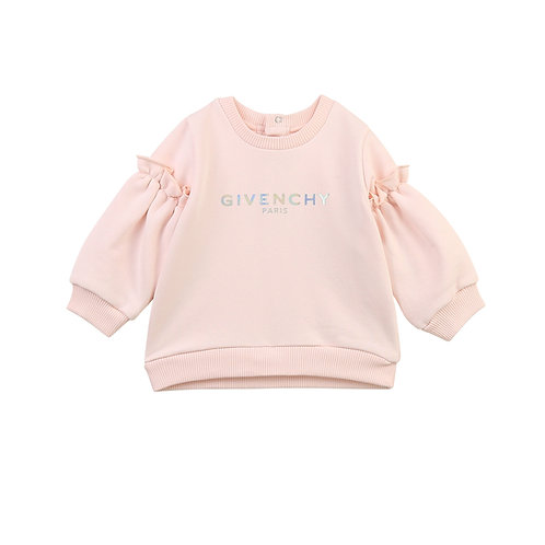 H05167/45S GIVENCHY BABY GIRLS SWEATSHIRT
