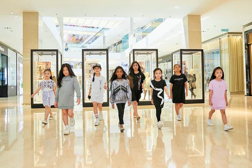 Fashion kids model in Givenchy Kids Spring/Summer 2021 New Collection @ JUNIOR LOOKBOOK