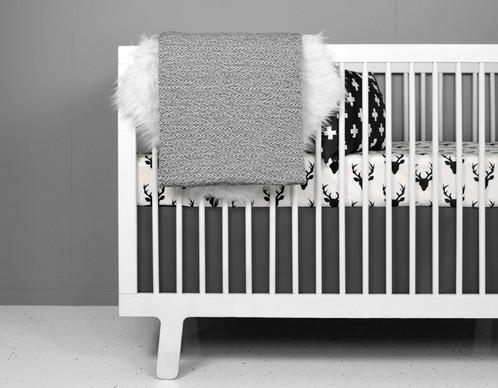deer crib bedding set