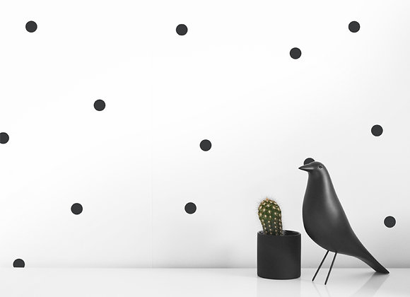 SMALL DOT WALL DECALS