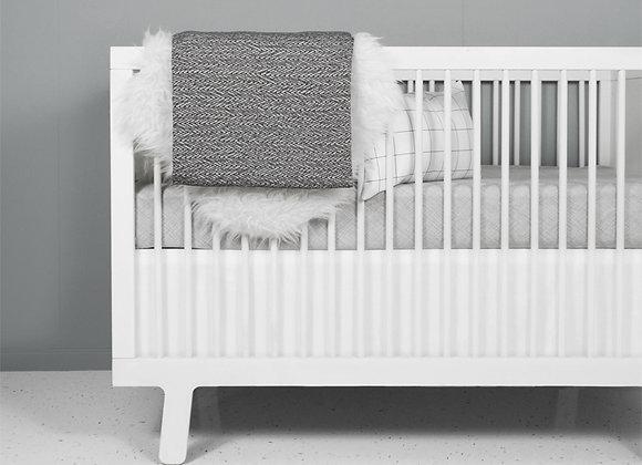 Modern Grey and white Crib Bedding Set | Nest Design