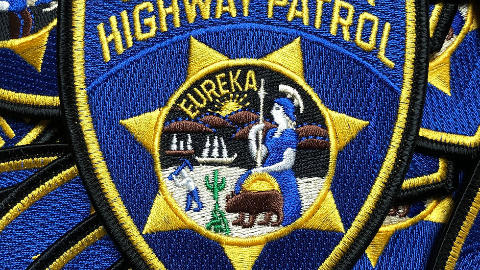 CHP, California Highway Patrol Embroidered Patch