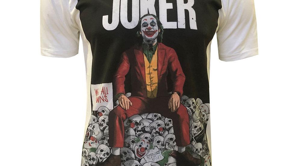 Joker Inspired Poster Organic T-Shirt