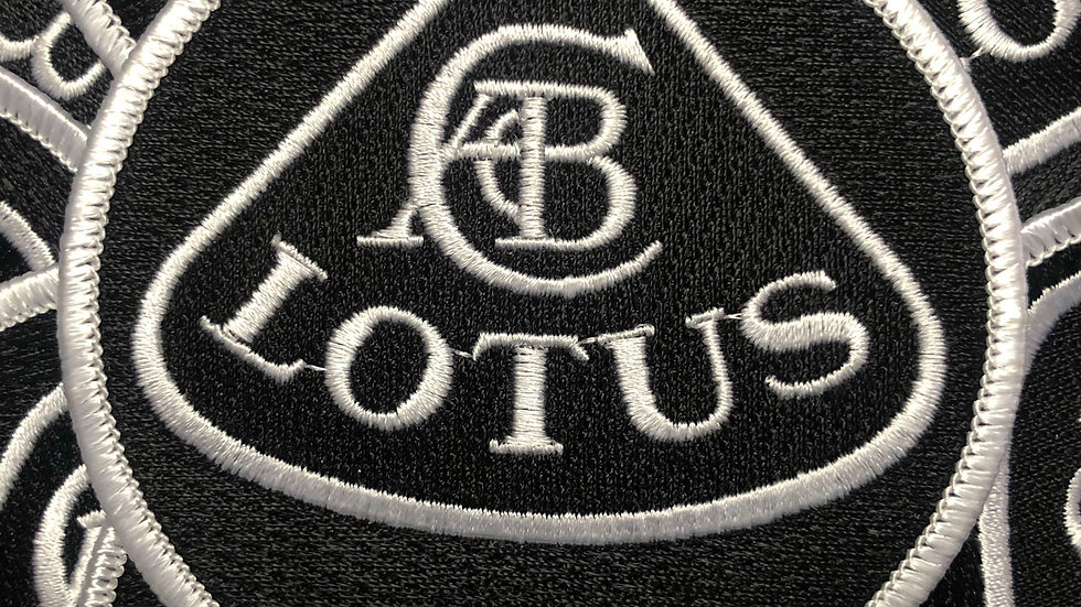 Lotus Team Embroidered Patch