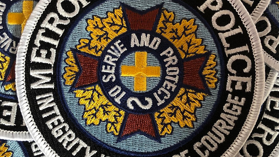 Police Academy Embroidered Patch