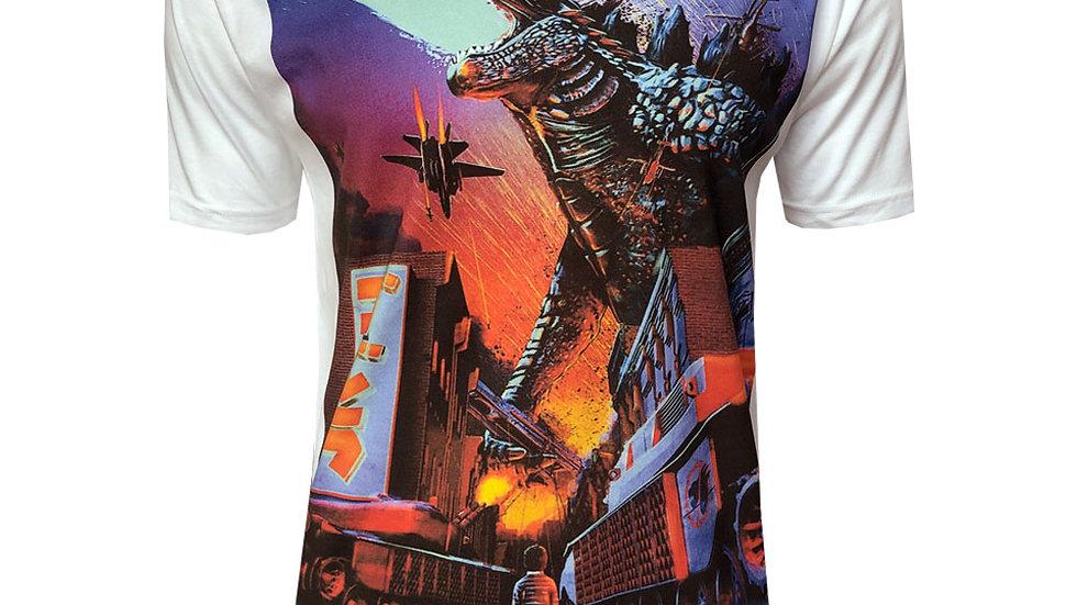 Godzilla Retro Poster T-Shirt