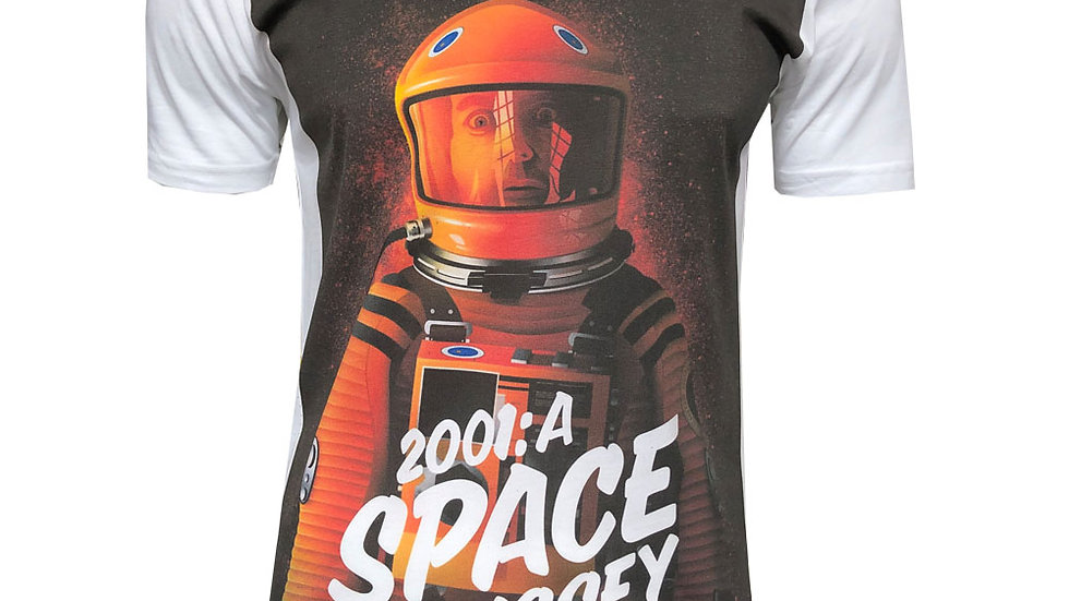 2001: A Space Odyssey Retro Poster T-Shirt