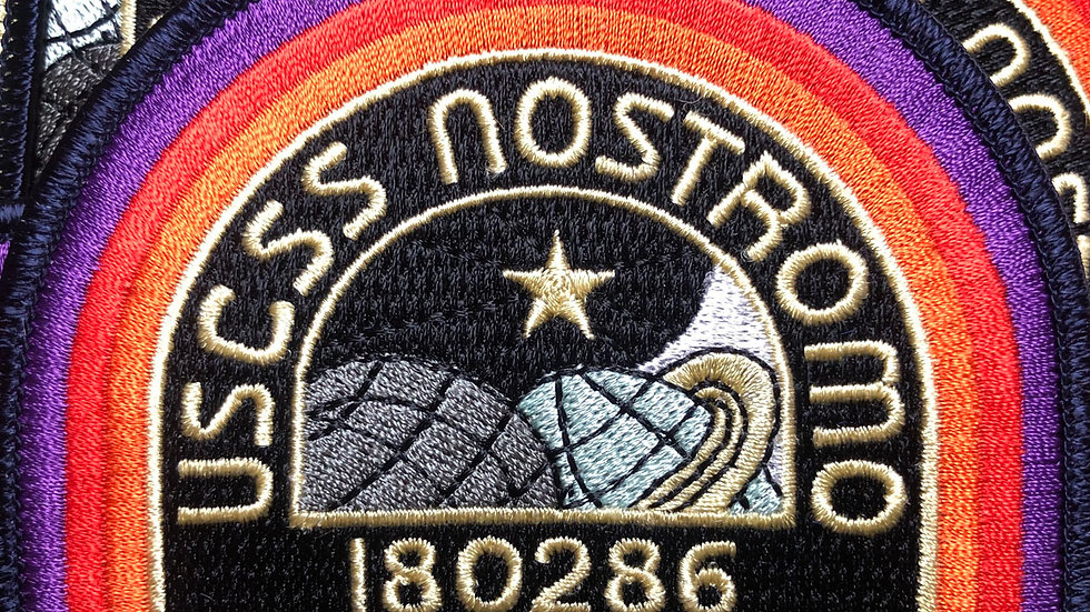 Alien USCSS Nostromo Embroidered Patch