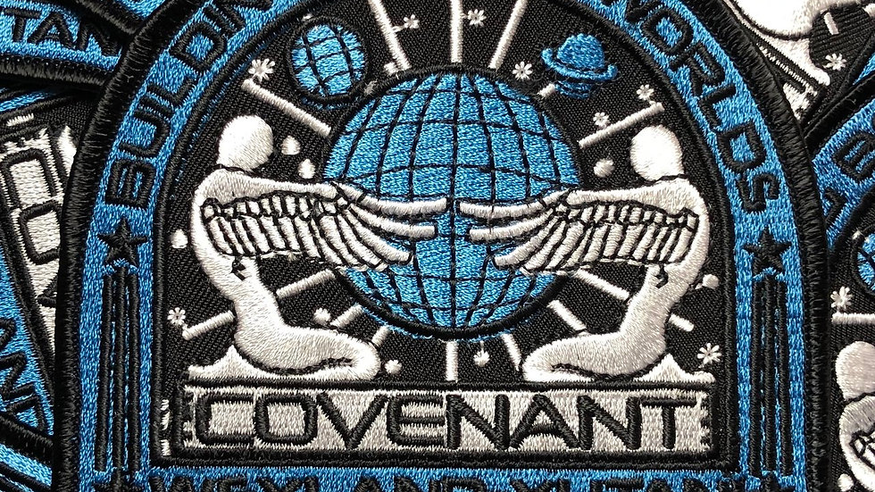Alien Convenant Embroidered Patch