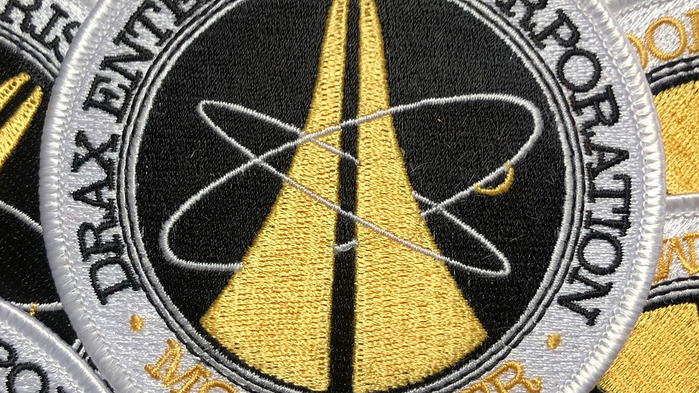 James Bond, 007 Drax Corp Embroidered Patch