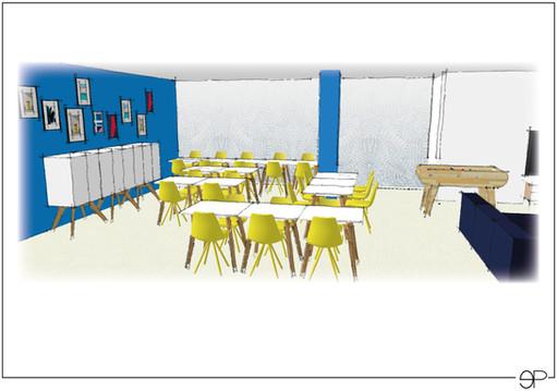 Planche ambiance pour la décoration d'une zone repas au sein d'une entreprise.jpg