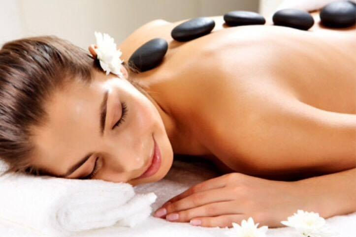Hot stone massage extended