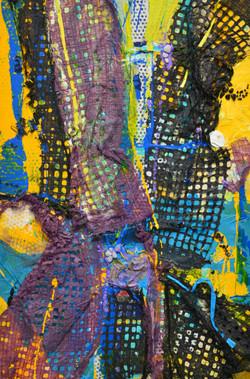 Yellow Blue Lace