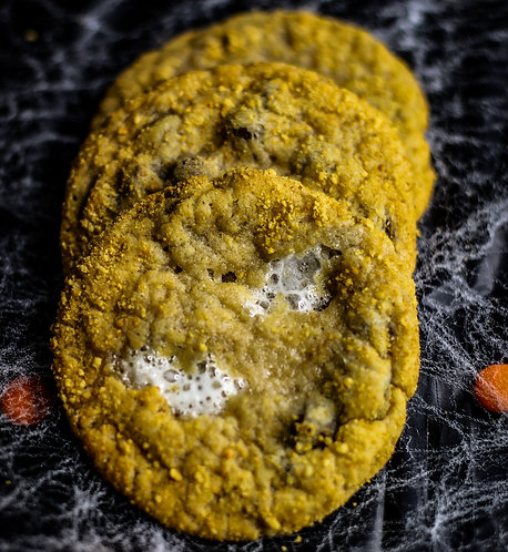 6 Spooky S'mores Cookies