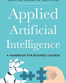Applied Artificial Intelligence is designed with Business Leaders in mind. It gives you a framework to think about and shows multiple use-cases in today business world. Best Reads 2020 by High and AI, #highandai
