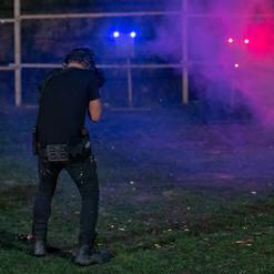 Ночная тренировка по стрельбе из огнетрельного и страйкбольного оружия по мишеням системы интерактивных устройств Steel Alive