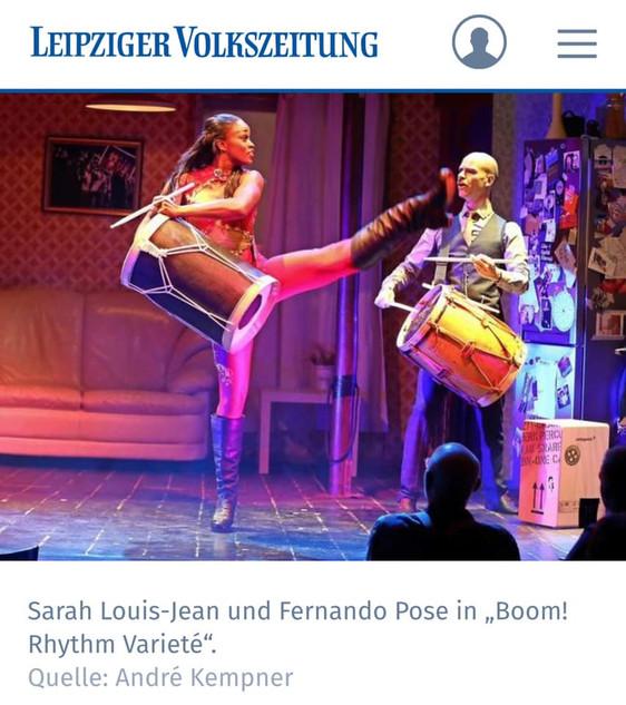 Leipziger Volkzeitung, Allemagne