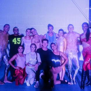 Choreographer for Cirque du Soleil (1h)