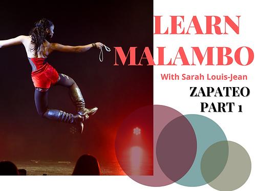Apprendre Malambo - Zapateo Partie 1