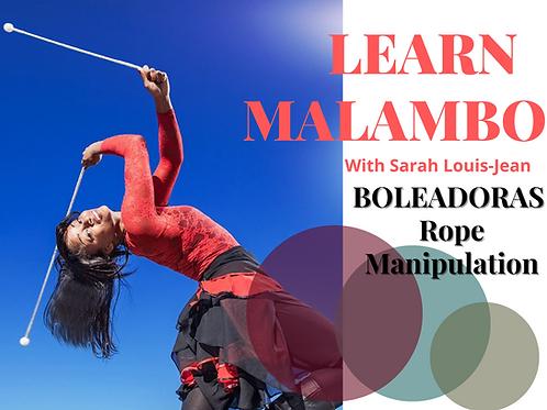 Aprann Malambo - Boleadoras kòd manipilasyon