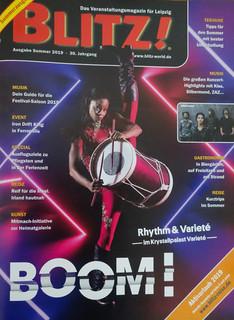 Blitz Magazine Cover, Germany