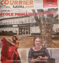 Courrier Laval Cover, Canada