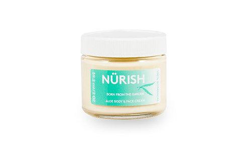 Nürish Face, Hand & Body Deep Moisturizing Cream, 2 oz