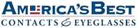America's best contacts and eyelasses logo