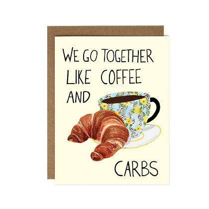COFFEE AND CARBS