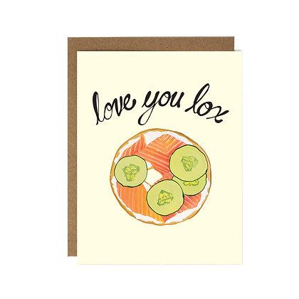 LOVE YOU LOX