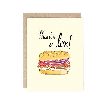 THANKS A LOX