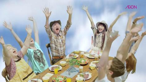 AEON「アメリカフェア ファミリーカット」篇