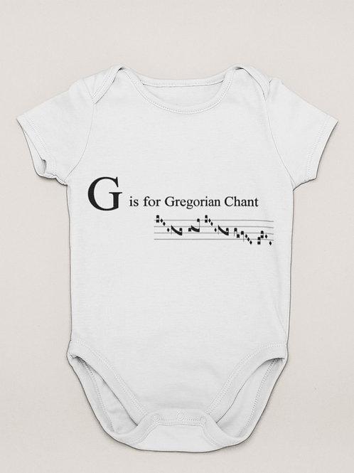 G is Gregorian Chant