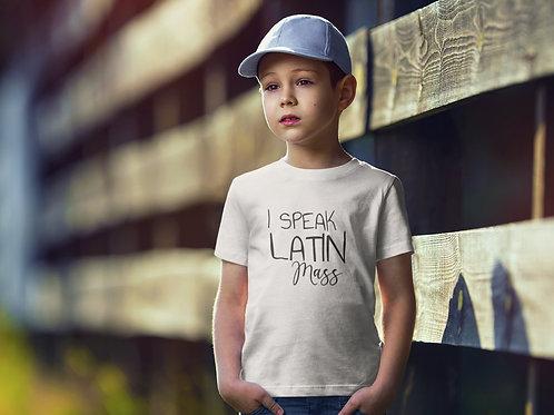 I speak latin mass