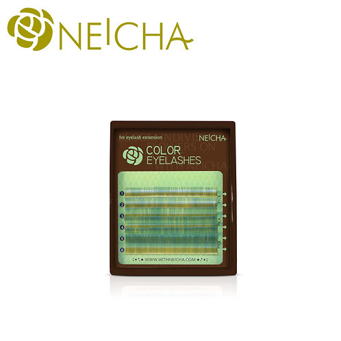 NEICHA Colorful Lash Green mix mini
